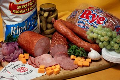 Deli Tray - Tenderloin Meat & Sausage - Sausage Winnipeg, Manitoba