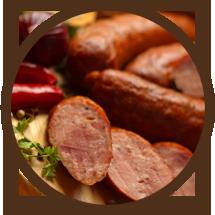 Garlic Sausage - Tenderloin Meat & Sausage - Meat Winnipeg, Manitoba